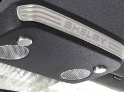 Interior - Interior Dress-Up - Drake Muscle Cars - 2005 - 2007 Mustang Shelby Stamped Aluminum Map Light Accents