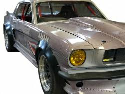 Quik-Latch - 1964 - UP Mustang Universal Aluminum QL-38 Series Hood Pins, Machined Aluminum/Black Cerakote - Image 3