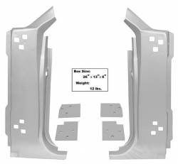 Dynacorn - 1967 - 1968 Mustang A Pillar Kit- 6 Piece- Weld Through Primer