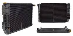 """1964-1973 Mustang Parts - 1964-1973 New Products - All Classic Parts - 71 - 73 Mustang Maxcore 3-Row Copper/Brass 26"""" Radiator"""