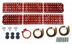Electrical & Lighting - Tail Lights - DIGI-TAILS  - LED Sequential Tail Light Kit, 67 - 68 Cougar and 67 Shelby Tail Lights
