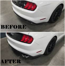 Shelby Performance Parts - 18 - 19 Mustang Shelby Quad Tip Exhaust (Acitve) - Image 5