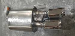 Shelby Performance Parts - 18 - 19 Mustang Shelby Quad Tip Exhaust (Acitve) - Image 7