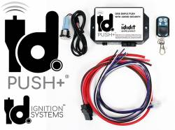 Ididit Inc. - 1964 - 1969 Mustang Ididit Universal Push+, Push Button Ignition System