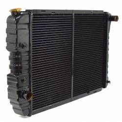 Radiators - 3 - Core - All Classic Parts - 71 - 73 Mustang Maxcore 3-Row Copper/Brass 26 Inch Radiator
