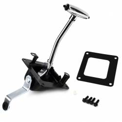 Shifter - Lever & Related - All Classic Parts - 67 - 68 Mustang Automatic Shifter Complete Assembly, Console Shift