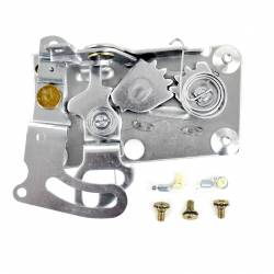 Door - Latches & Related - All Classic Parts - 65-66 Mustang Door Latch Assembly w/ OE-Style Clips, Left