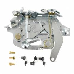 Door - Latches & Related - All Classic Parts - 67-68 Mustang Door Latch Assembly w/ OE-Style Clips, Left