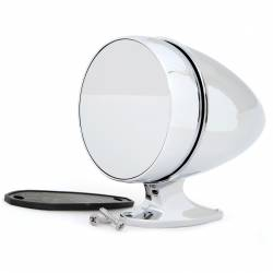 Body - Mirrors - All Classic Parts - 65-68 Mustang Outside Mirror, Bullet, Short Base