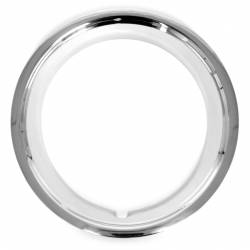 Wheels - Hub Caps & Trim Rings - All Classic Parts - 66 Mustang Wheel Trim Ring, 14 inch Diameter / 2 inch Depth