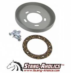 Fuel System - Caps & Doors - Stang-Aholics - 65 - 68 Mustang Fastback Weld in Recessed Fuel Cap Plate