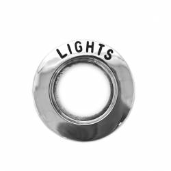 64-66 Mustang Headlight Switch Bezel