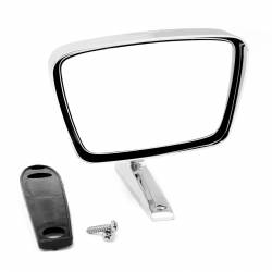 Body - Mirrors - All Classic Parts - 67-68 Mustang Outside Mirror, Dummy Right