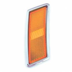 Electrical & Lighting - Marker Lights - All Classic Parts - 70 Mustang Front Side Marker Light Assembly, Includes Bezel, Lens & Housing, Right