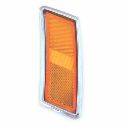 Electrical & Lighting - Marker Lights - All Classic Parts - 70 Mustang Front Side Marker Light Assembly, Includes Bezel, Lens & Housing, Left