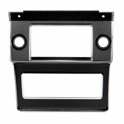 Dash - Radio & Related - All Classic Parts - 69-70 Mustang Radio Bezel, Black