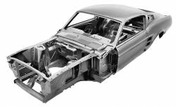 Body - Body Shells - Dynacorn - 1967 Mustang Fastback Dynacorn Body Shell