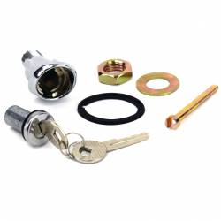Locks & Ignition - Trunk Locks - All Classic Parts - 65-66 Mustang Trunk Lock Cylinder & Sleeve KIT