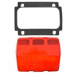 Electrical & Lighting - Tail Lights - All Classic Parts - 65-66 Mustang Tail Light Lens & Gasket + Housing Gasket, Fits RH or LH