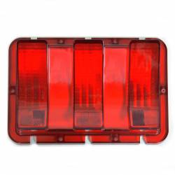 Electrical & Lighting - Tail Lights - All Classic Parts - 67-68 Mustang Tail Light Lens, Fits RH or LH
