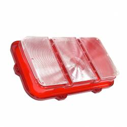 Electrical & Lighting - Tail Lights - All Classic Parts - 70 Mustang Tail Light Lens, Fits RH or LH