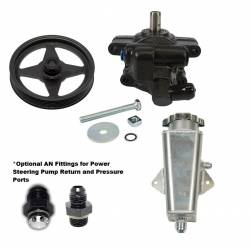 Power Steering - Pumps & Related - Stang-Aholics - Coyote 5.0 Swap Power Steering Pump with Pulley and Reservoir, No Lines