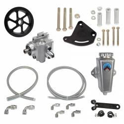 Power Steering - Pumps & Related - Total Control Products - 64 - 73 Mustang Remote Power Steering Sportsman Pump Kit with Serp Pulley