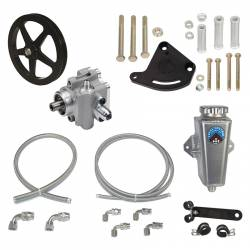 Power Steering - Pumps & Related - Total Control Products - 64 - 73 Mustang Remote Power Steering Sportsman Pump Kit with V-Belt Pulley