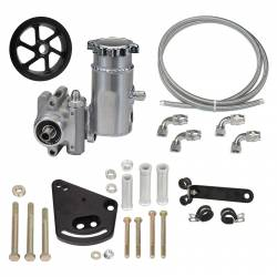 Power Steering - Pumps & Related - Total Control Products - 64 - 73 Mustang Integral Power Steering Sportsman Pump Kit with Serp Pulley