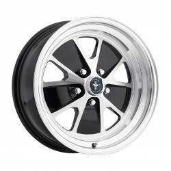 Wheels - 17 Inch - Legendary Wheel Co. - 64 - 73 Mustang 17 x 8 Styled Alloy Wheel, Gloss Black