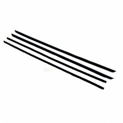 Weatherstrip - Window - All Classic Parts - 65-66 Mustang Window Felt Weatherstrip Kit, Fastback (4 Pcs)
