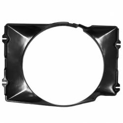 "Cooling - Radiator Fan & Shrouds - All Classic Parts - 68-69 Mustang Fan Shroud 289/302/351 w/AC, 24"" Radiator"