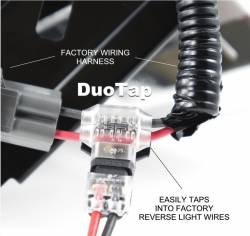 Miscellaneous - Universal LED License Plate Back Up Light, Gloss Black - Image 6