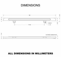 Miscellaneous - Universal LED License Plate Back Up Light, Gloss Black - Image 8