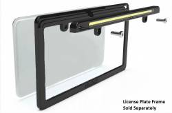 Electrical & Lighting - Back Up Lights - Miscellaneous - Universal LED License Plate Back Up Light, Satin Black