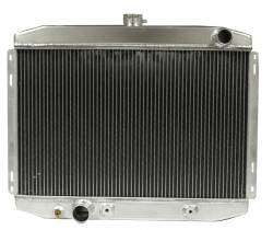 Radiators - 2 - Core - Scott Drake - 67 - 70 Mustang Aluminum Radiator for Big Block FE 390 428 Engines