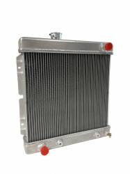 Radiators - 2 - Core - Scott Drake - 1964 - 1966 Mustang 2-Row Aluminum Radiator for 5.0 Engines