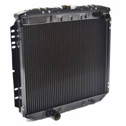 """All Classic Parts - 69-70 Mustang Radiator, V8 302/351 w/o AC (6Cyl 250) LH Out, 20"""" - Copper 3 Row Large Tube - Image 5"""
