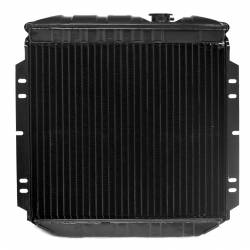All Classic Parts - 65-66 Mustang Radiator, V8 (5.0 Conversion), LH Out - Copper 3 Row Large Tube - Image 4