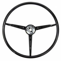 Steering Wheel & Related - Steering Wheels - All Classic Parts - 67 Mustang Steering Wheel ONLY, Standard, Black