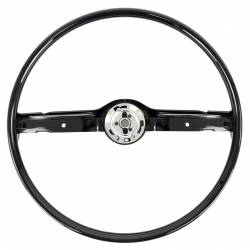 Steering Wheel & Related - Steering Wheels - All Classic Parts - 68-69 Mustang Steering Wheel ONLY, Standard, Black