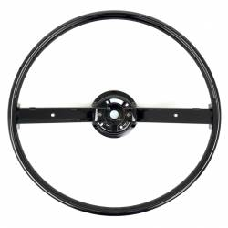 Steering Wheel & Related - Steering Wheels - All Classic Parts - 70-74 Mustang Steering Wheel ONLY, 2 Spoke (w/ Horn Bars)