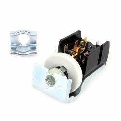 Electrical & Lighting - Headlights - All Classic Parts - 71-72 Mustang Headlight Switch w/Bracket (Also fits 8/17/64 to 11/16/64)