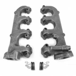 All Classic Parts - 64-73 Mustang Exhaust Manifolds, V8 260/289/302, PAIR, Premium Centrifugal Casting