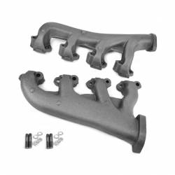 All Classic Parts - 65-67 Mustang Exhaust Manifolds, V8 289 HiPo, PAIR, Premium Centrifugal Casting