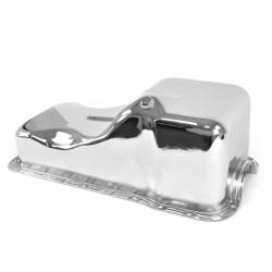 Oil System - Pans - All Classic Parts - 69-87 Mustang Oil Pan 351W, Chrome