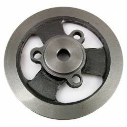 "Engine - Engine Pulleys & Brackets - All Classic Parts - 65-67 Mustang Crankshaft Pulley w/AC or PS, 6 Cylinder 200, Single Groove, Bolt-on (5 29/32"" OD)"