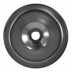 "Power Steering - Pumps & Related - All Classic Parts - 65-70 Mustang Power Steering Pump Pulley V8, Black (5 7/32"" OD, 11/16"" ID)"
