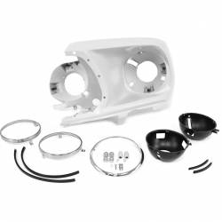 Headlight - Assemblies - All Classic Parts - 1969 Mustang Headlight Bucket Assembly (LH)