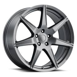 Wheels - 20 Inch - Voxx - 05 - Current Gunmetal Mustang GT5 20 x 9 Wheel